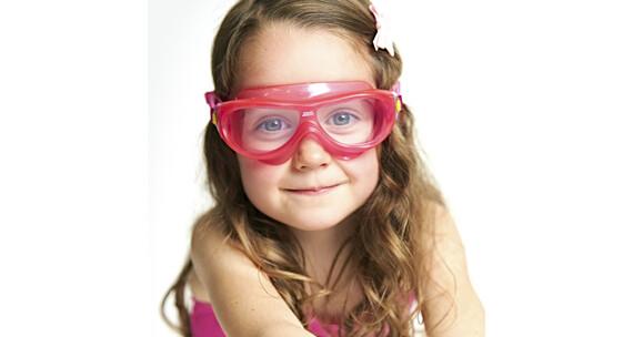Zoggs Phantom Okulary pływackie Dzieci różowy/przezroczysty